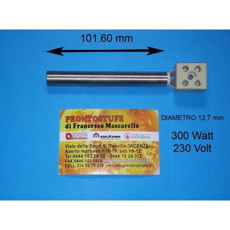 Candeletta accensione d127 x lunga 101.6 mm