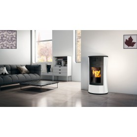 Cherie UP H Thermo stove Glass 16,2 KW Edilkamin
