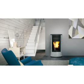 Cherie UP H Thermo stove in Soapstone 16,2 KW Edilkamin