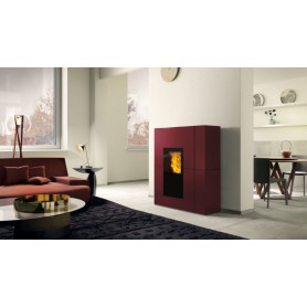 Blade H22 Thermo stove in Painted Steel 22,5 KW Edilkamin