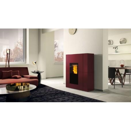 Blade H22 EKleaner Thermo stove in Painted Steel 22,5 KW Edilkamin
