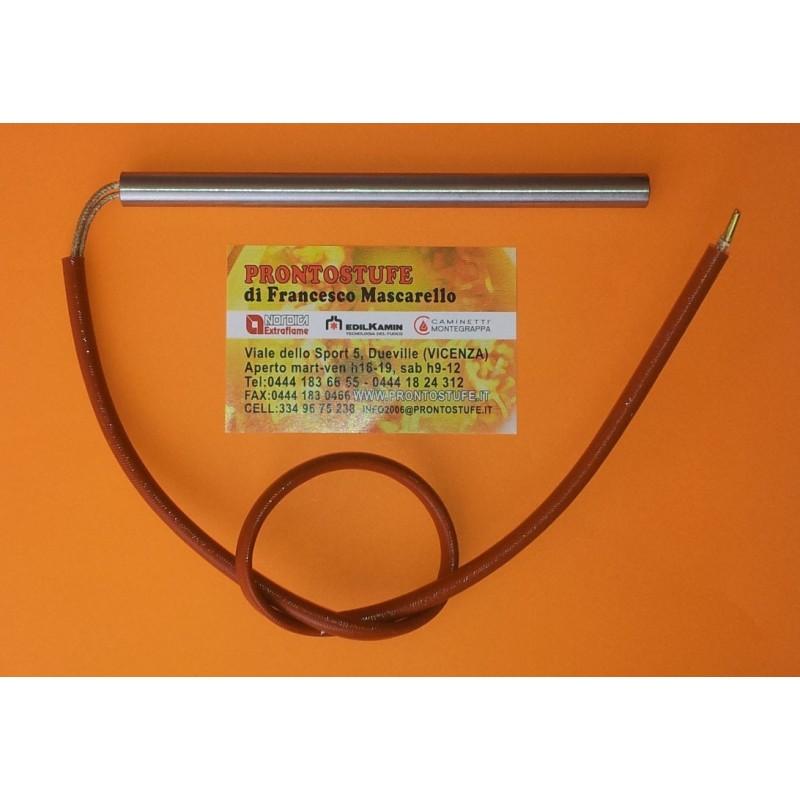 Candeletta, resistenza accensione stufa pellet comp. Extraflame