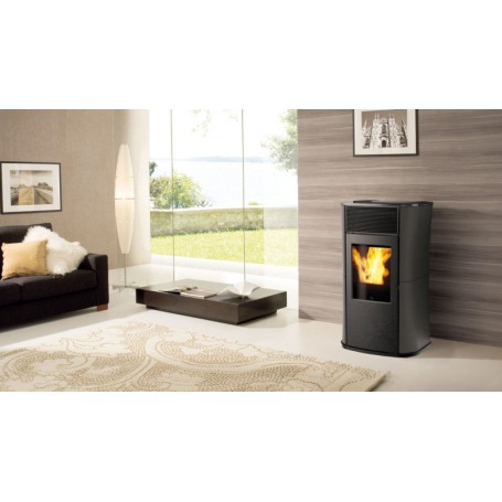 Mya Air Tight Pellet Stove a With Sealed Chamber 6,3 KW Edilkamin