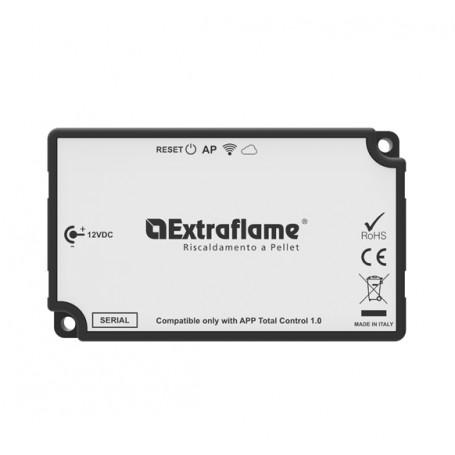Modulo Remoto Wi-Fi Bianco per stufe La Nordica Extraflame