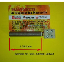 Candeletta accensione d12.7 x lunga 76.2 mm