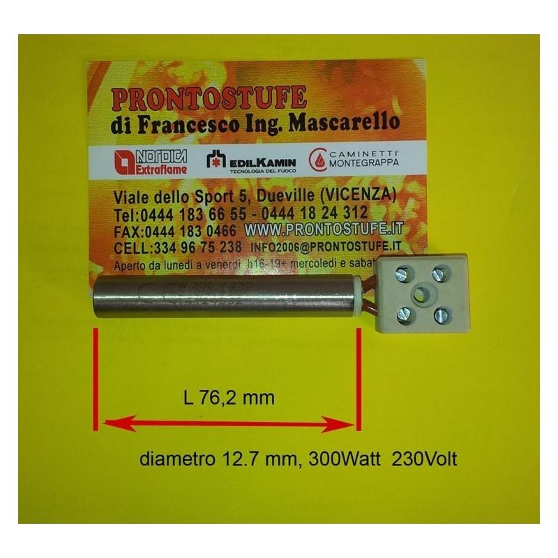 Candeletta accensione d12.7 x lunga 76.2 mm