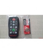 Remote controls, feet, knobs, cast irons